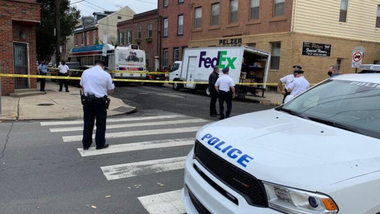 A FedEx driver was shot in Queen Village
