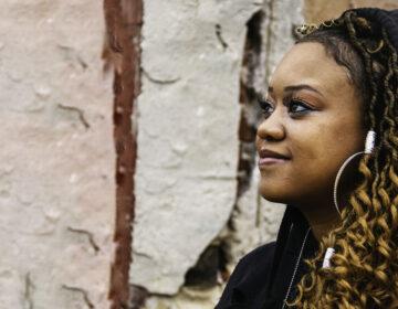 North Philadelphia musician/poet Hazel The Aura