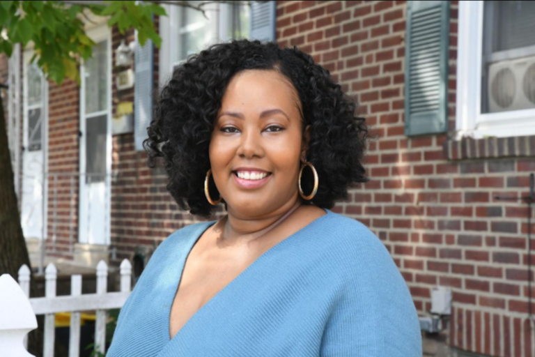 Jamil Rivers, an advocate living with metastatic breast cancer, has spearheaded a virtual educational program offered by Living Beyond Breast Cancer, a national nonprofit organization. (Abdul R. Sulayman / The Philadelphia Tribune)