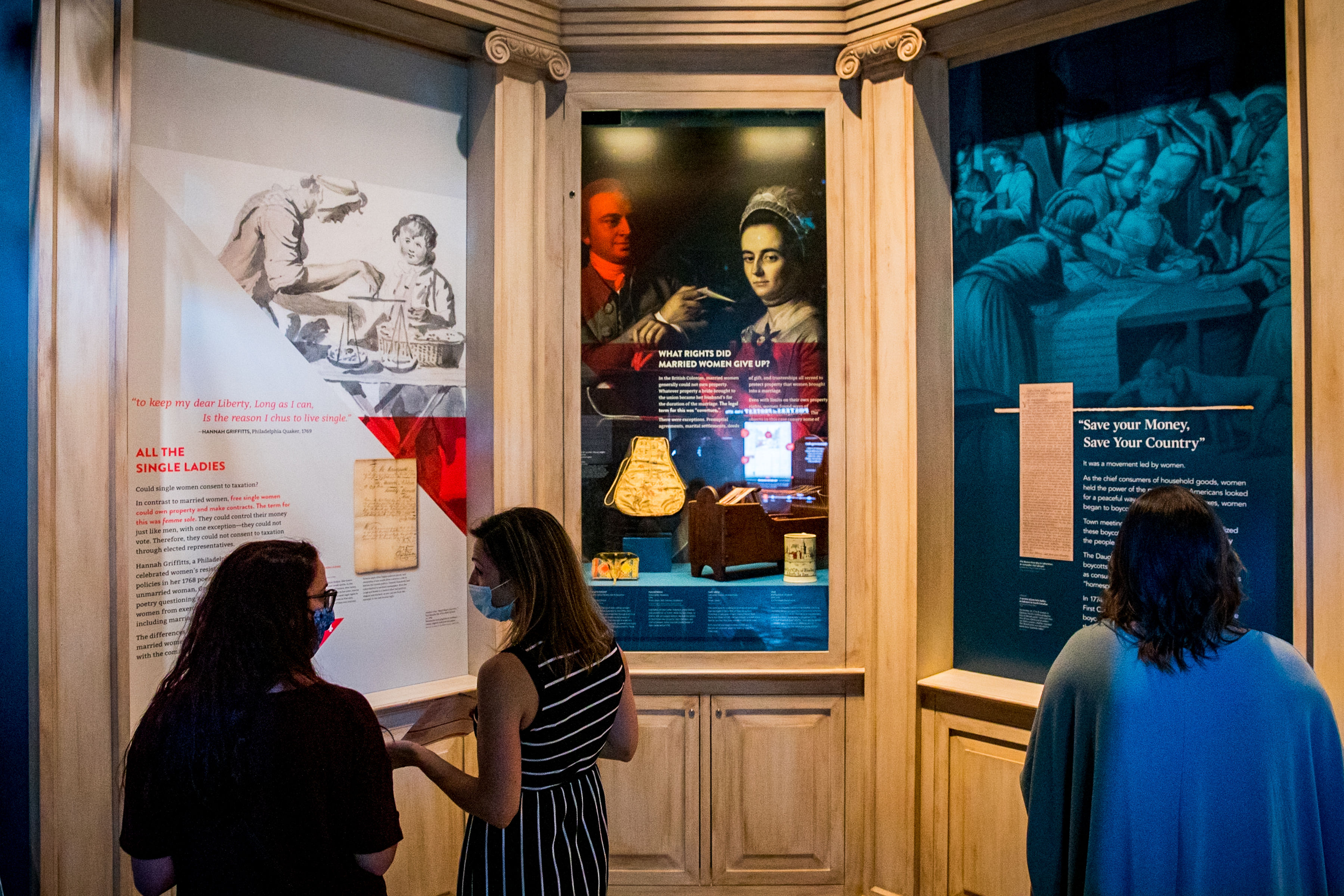 "Museum of the American Revolution's ""When Women Lost the Vote: A Revolutionary Story, 1776 – 1807"""