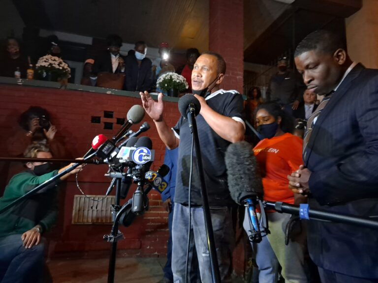 Walter Wallace Sr. said his son was suffering from a mental health crisis when he was shot and killed by police on Monday. (Ximena Conde/WHYY)