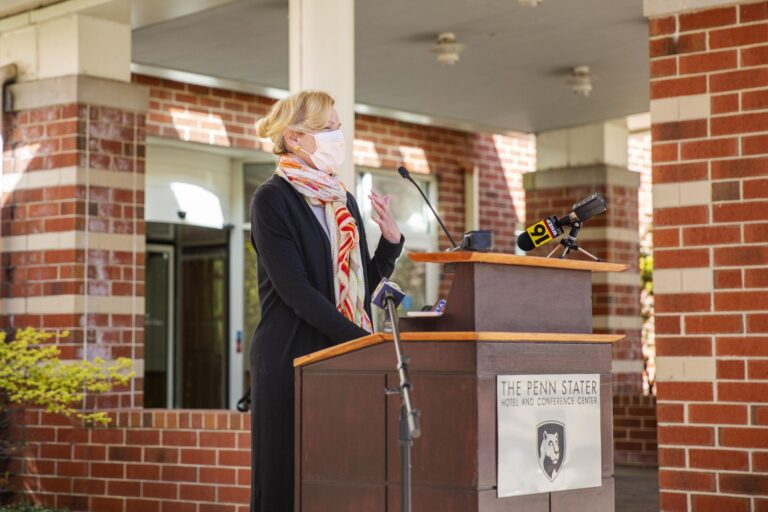 More widespread testing and adherence to COVID-19 safety measures, such as masking and distancing, are necessary to prevent a resurgence in cases in Northeastern states, said Dr. Deborah Birx of the White House Coronavirus Task Force Wednesday. (Min Xian / WPSU)