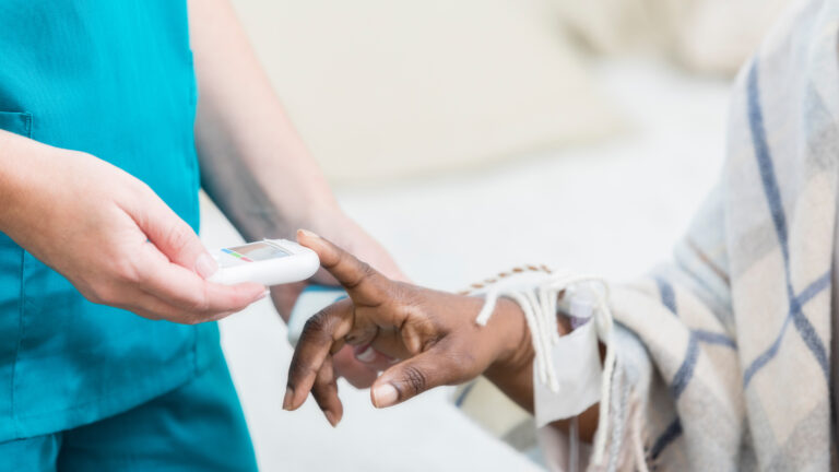 On average, each U.S. nursing home is connected to seven others through shared staff, a study by Yale and UCLA researchers suggests. Rigorous infection control measures can curb spread of the coronavirus, but many workers say they still don't have sufficient masks and other PPE. (SDI Productions/Getty Images)