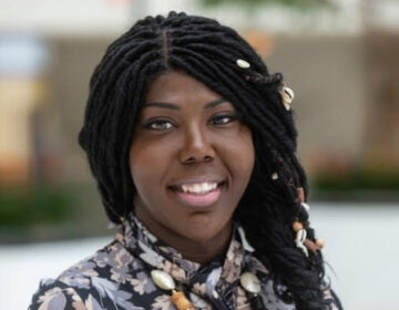 Kendall Stephens, a 34-year-old Temple student who advocates for LGBTQ issues