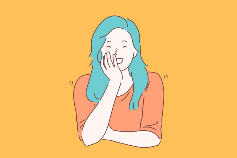 Many people experience inappropriate, uncontrallable laughter during really intense situations, when things aren't very funny. Turns out, that this is a type of emotion regulation at work. (LogotypeVector / Big Stock Photo)