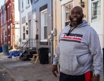 "Shawn ""Big Duke"" Hollis on Westmont Street"