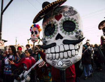 The Día de los Muertos procession in 2019. (Photo by Justin Mayer/Fleisher Art Memorial)