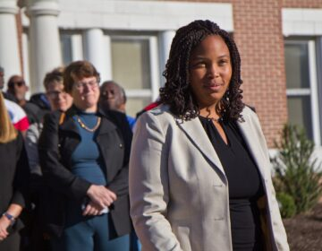 Delaware County Council Vice Chair Monica Taylor (Kimberly Paynter/WHYY)