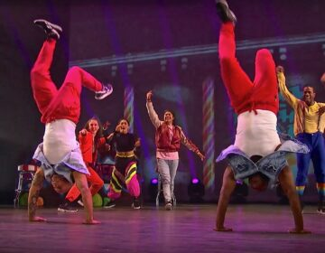 Dancers in the 'Hip Hop Nutcracker'