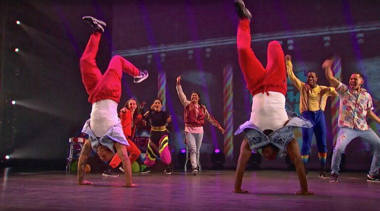 Dancers in the 'Hip Hop Nutcracker'