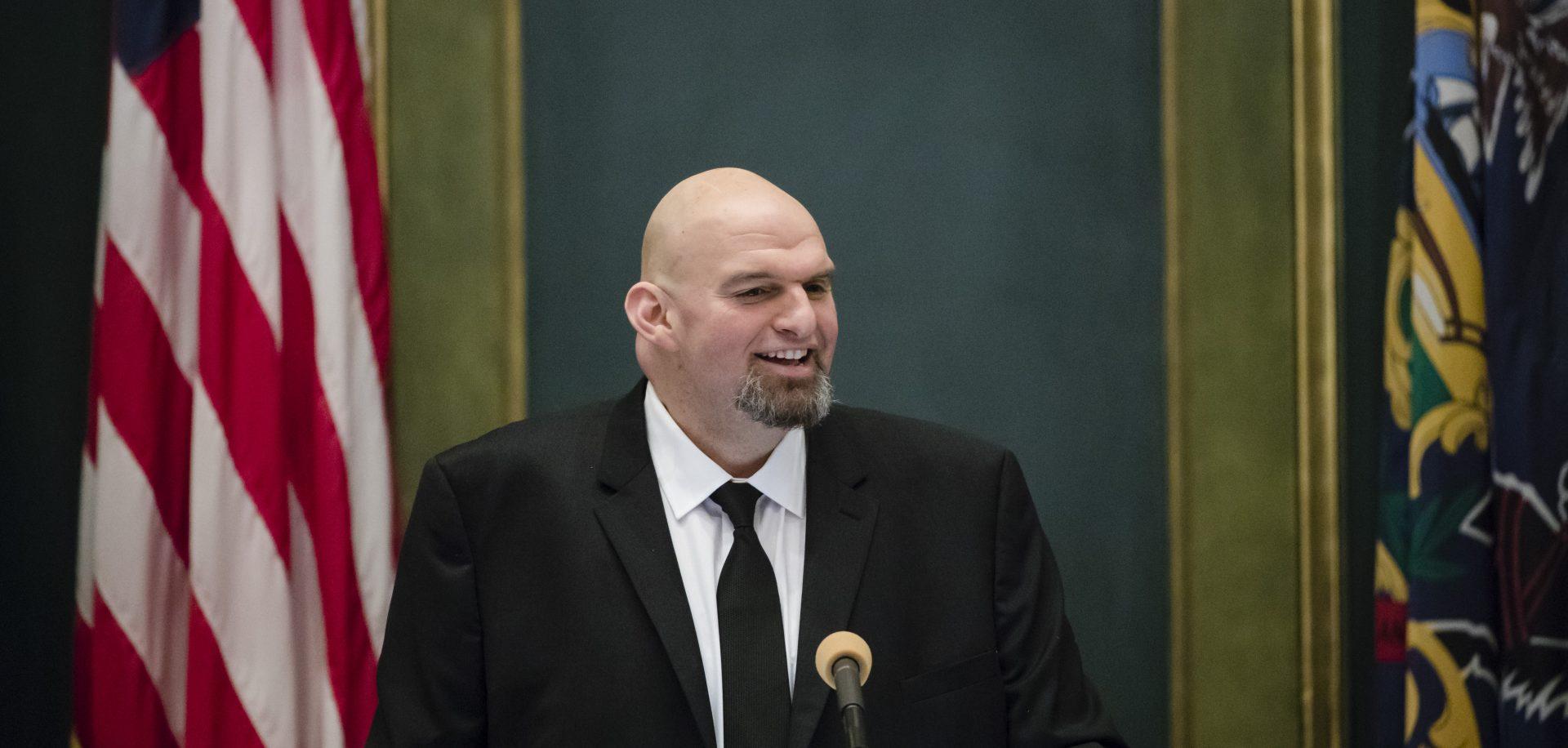 Fetterman dwarfs competition in Senate fundraising