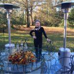 Carol Arnott-Robbins on her deck