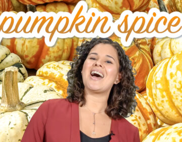 Kae Lani Palmisano discussing pumpkin pie and pumpkin spice
