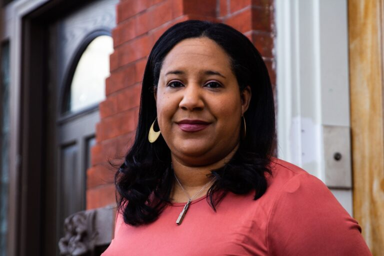 Tya Winn is the new executive director of the Community Design Collaborative. (Kimberly Paynter/WHYY)
