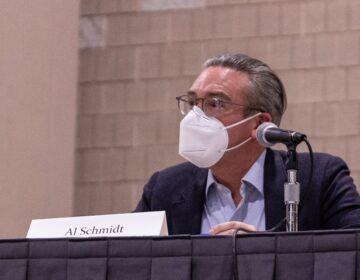 Philadelphia City Commissioner Al Schmidt. (Kimberly Paynter/WHYY)