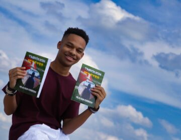 Glassboro native Isaiah Green wrote a book detailing his experience surviving the shooting that happened at a Pleasantville High School football game one year ago. (Photo by Kyle J. Pernell)