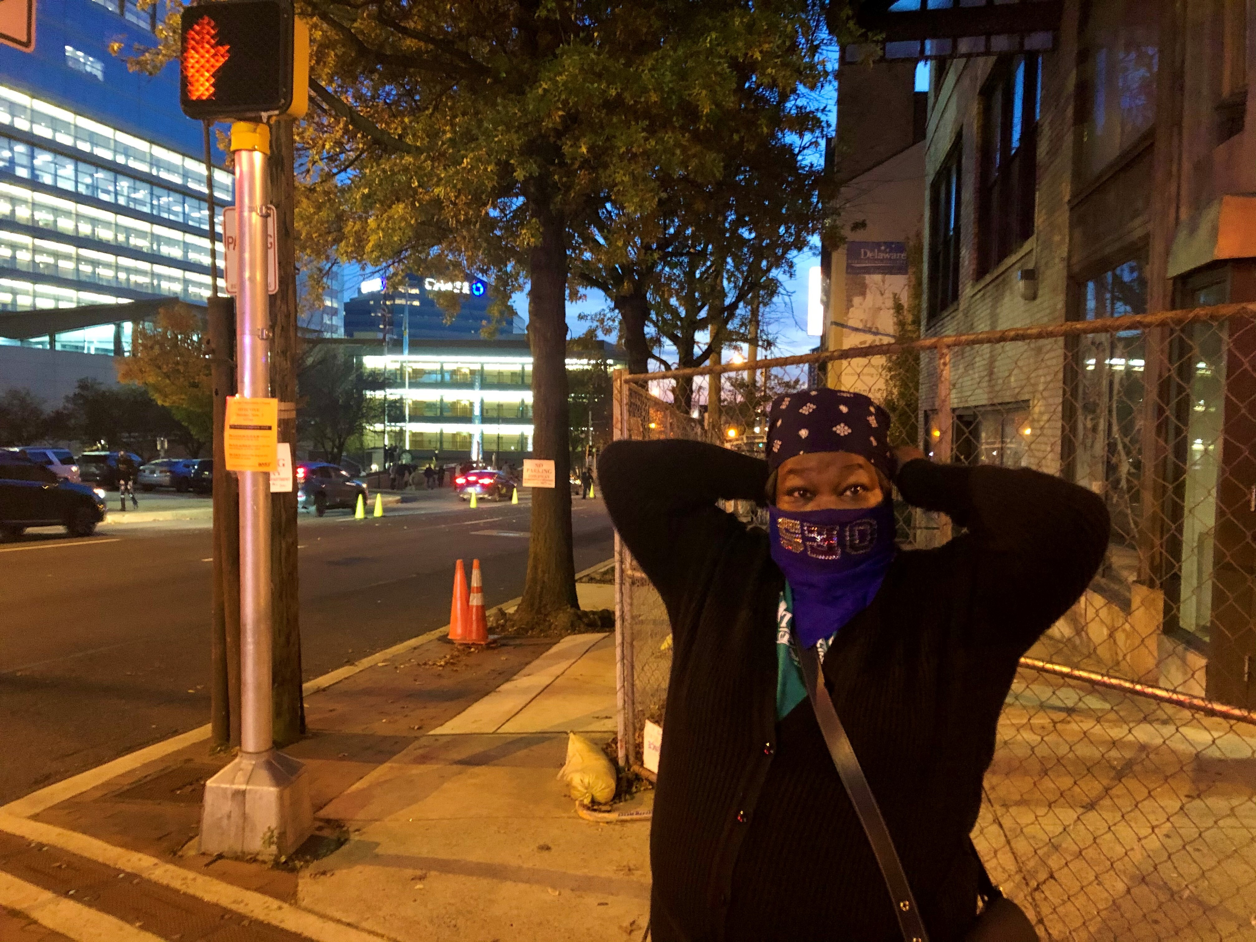 Marsha Knight is overjoyed to be witnessing history in her hometown of Wilmington.