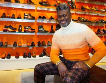 Steve Jamison of Blue Sole Shoes (The Philadelphia Tribune)