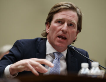 Department of Homeland Security Cybersecurity and Infrastructure Security Agency Director Christopher Krebs seen on Capitol Hill last year. (Carolyn Kaster/AP Photo)