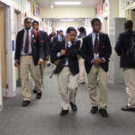 Students at Boys' Latin of Philadelphia Charter School are shown in 2013. Boys' Latin is one of 21 charter schools in the city that joined the coalition. (Emma Lee/WHYY)