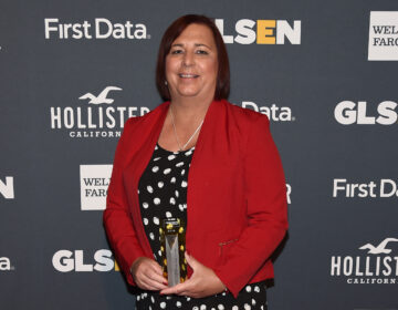 Stephanie Byers, pictured here as a 2018 GLSEN Educator of the Year, won her 2020 race for the Kansas state House of Representatives. (Ilya S. Savenok/Getty Images for GLSEN)