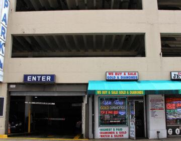 Philadelphia parking garage