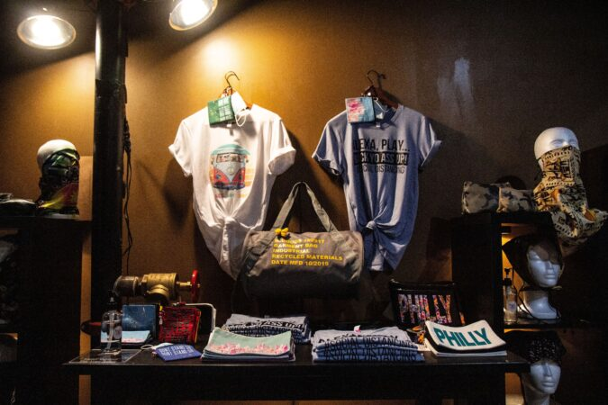 Shirts and accessories for sale at Trunc.