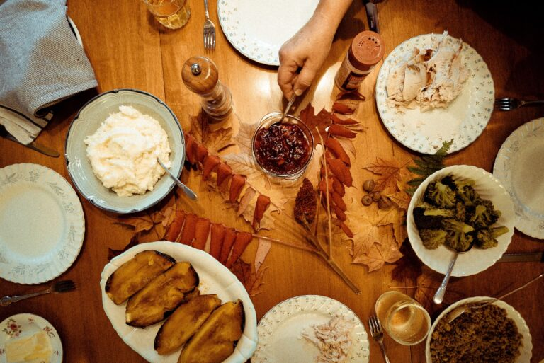 A Thanksgiving spread is pictured in this file photo.