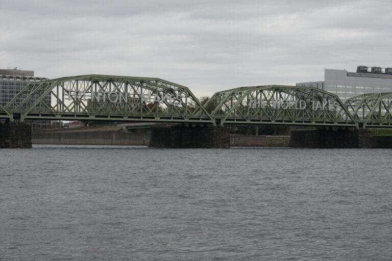 The Lower Trenton Bridge