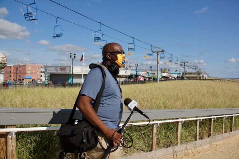 P. Kenneth Burns heads to Seaside Heights to find out how Jersey Shore businesses are coping during the pandemic. (Emma Lee/WHYY)