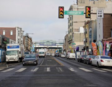 The 52nd Street commercial corridor in West Philadelphia