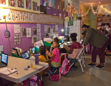 Classroom in North Philadelphia. (Kimberly Paynter/WHYY)