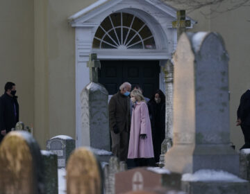 President-elect Joe Biden and his wife Jill Biden joined by Ashley Biden and her husband Howard Krein walk from St. Joseph on the Brandywine Roman Catholic Church in Wilmington, Del., Friday, Dec. 18, 2020. Today is the anniversary of Neilia and Naomi Biden's death. (AP Photo/Carolyn Kaster)
