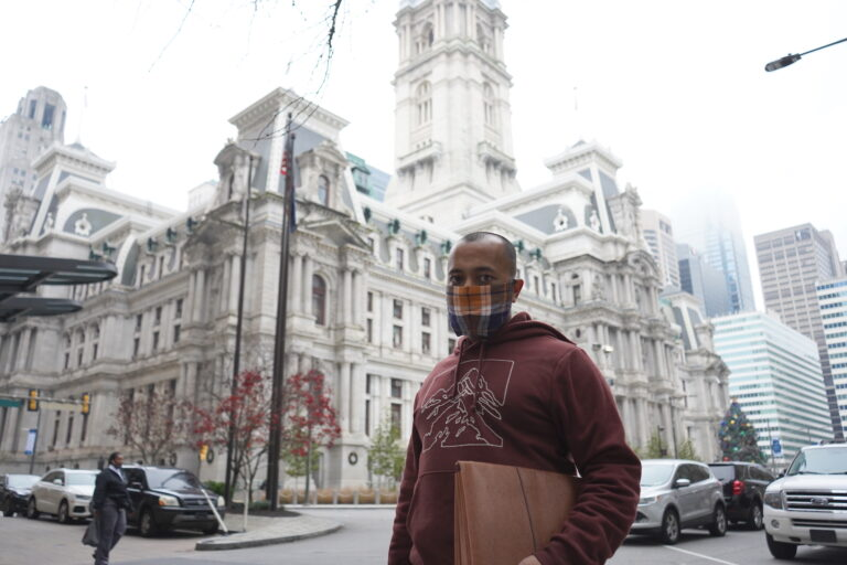 Sameer Khetan is the operations coordinator for the Philadelphia Community Bail Fund. (Kenny Cooper/WHYY)