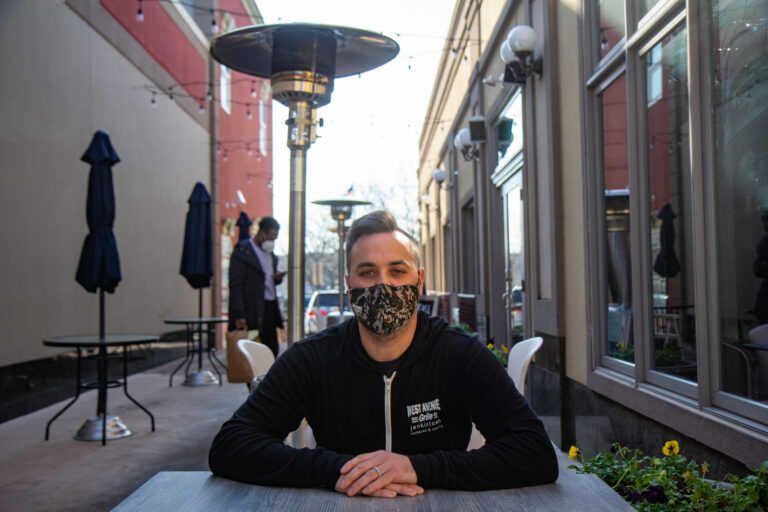 Dan Katz is the owner of the West Avenue Grille in Jenkintown, Pa. (Kimberly Paynter/WHYY)