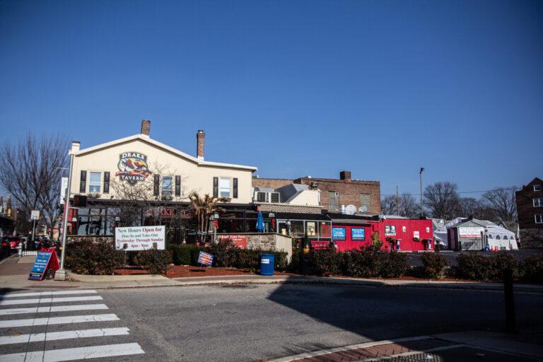 The Drake Tavern in Jenkintown, Pa. (Kimberly Paynter/WHYY)