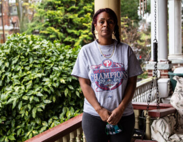 Adrienne Berry will lose Pandemic Unemployment Assistance at the end of December. (Kimberly Paynter/WHYY)