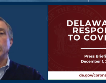 Gov. Carney was subdued Tuesday during his virtual briefing, urging Delawareans to