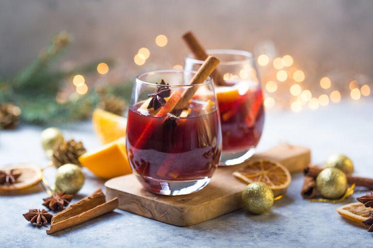 Festive mulled wine