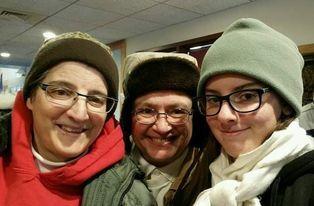 Laura, Cheri Zatko-Coseglia, and daughter Arli