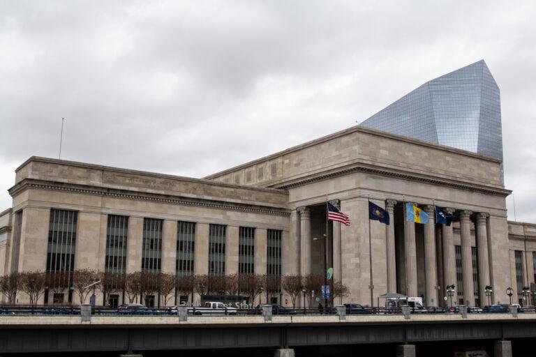 30th Street Station in Philadelphia.