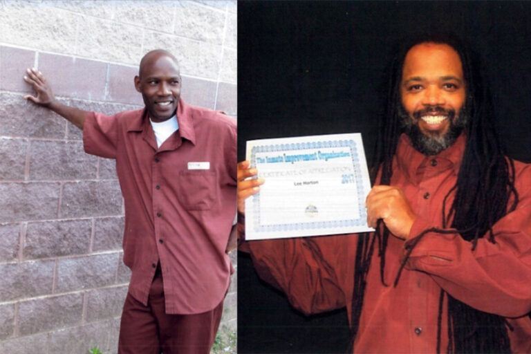 Dennis/Freedom (left) and Lee (right) Horton. (Courtesy of Families Against Mandatory Minimums)