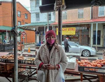 Shadonna at the Italian Market