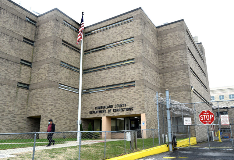 The Cumberland County Jail. (April Saul for WHYY)