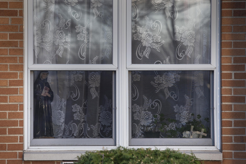 St. Joseph's Senior Home in Woodbridge, New Jersey is seen on Sunday, Dec. 13, 2020.