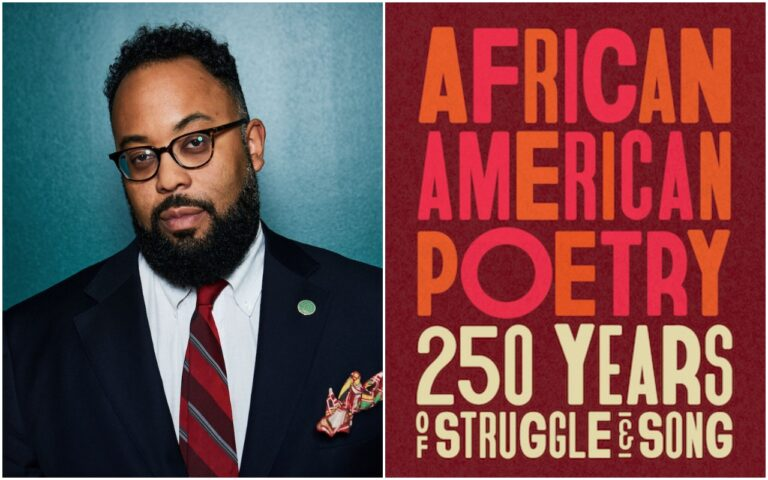 Poet Kevin Young and his anthology African American Poetry: 250 Years of Struggle and Song