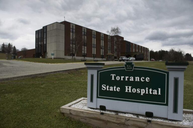 Torrance State Hospital in Pa.