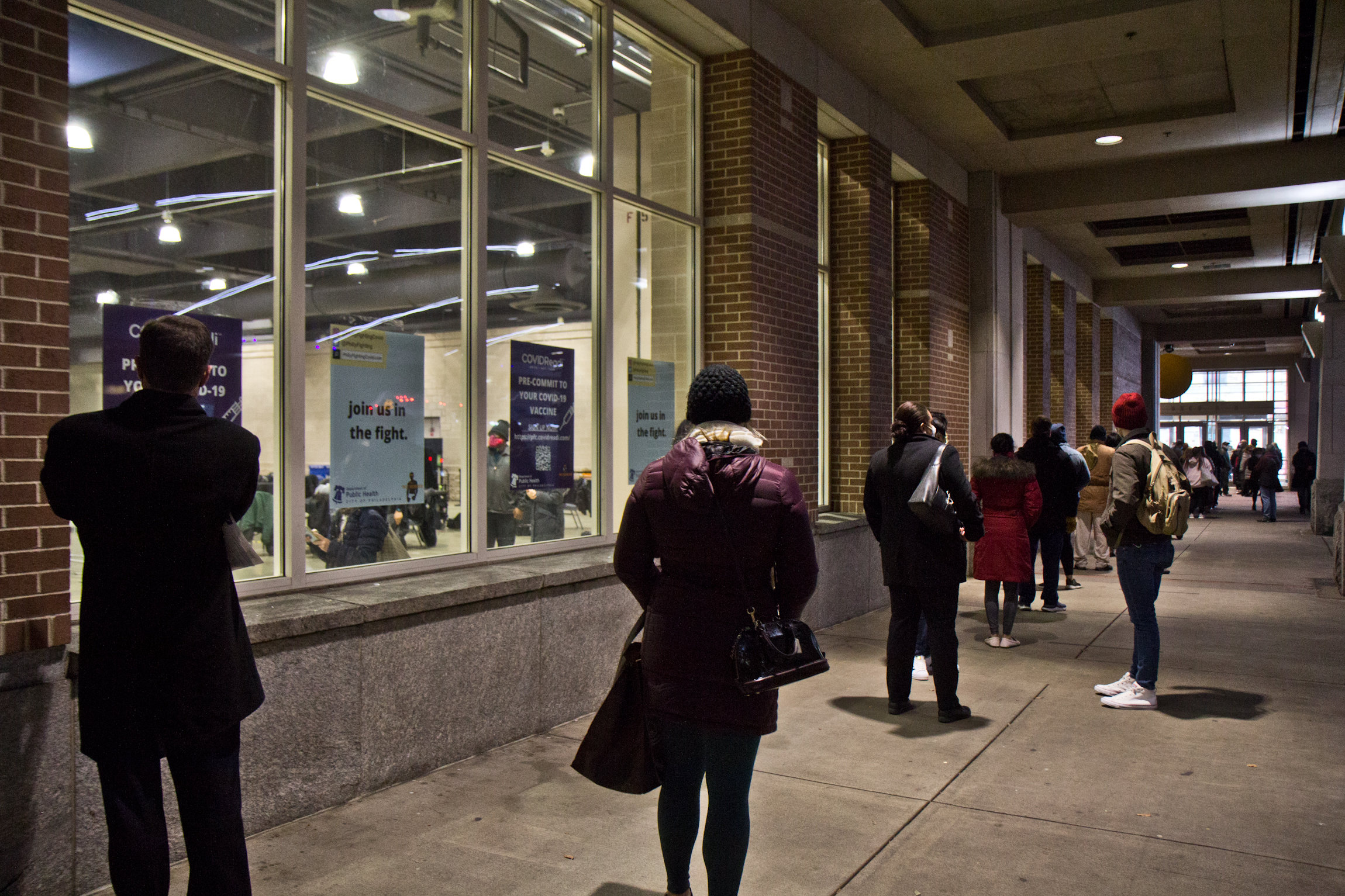 Hundreds Of Home Health Workers Vaccinated At Convention Center Whyy