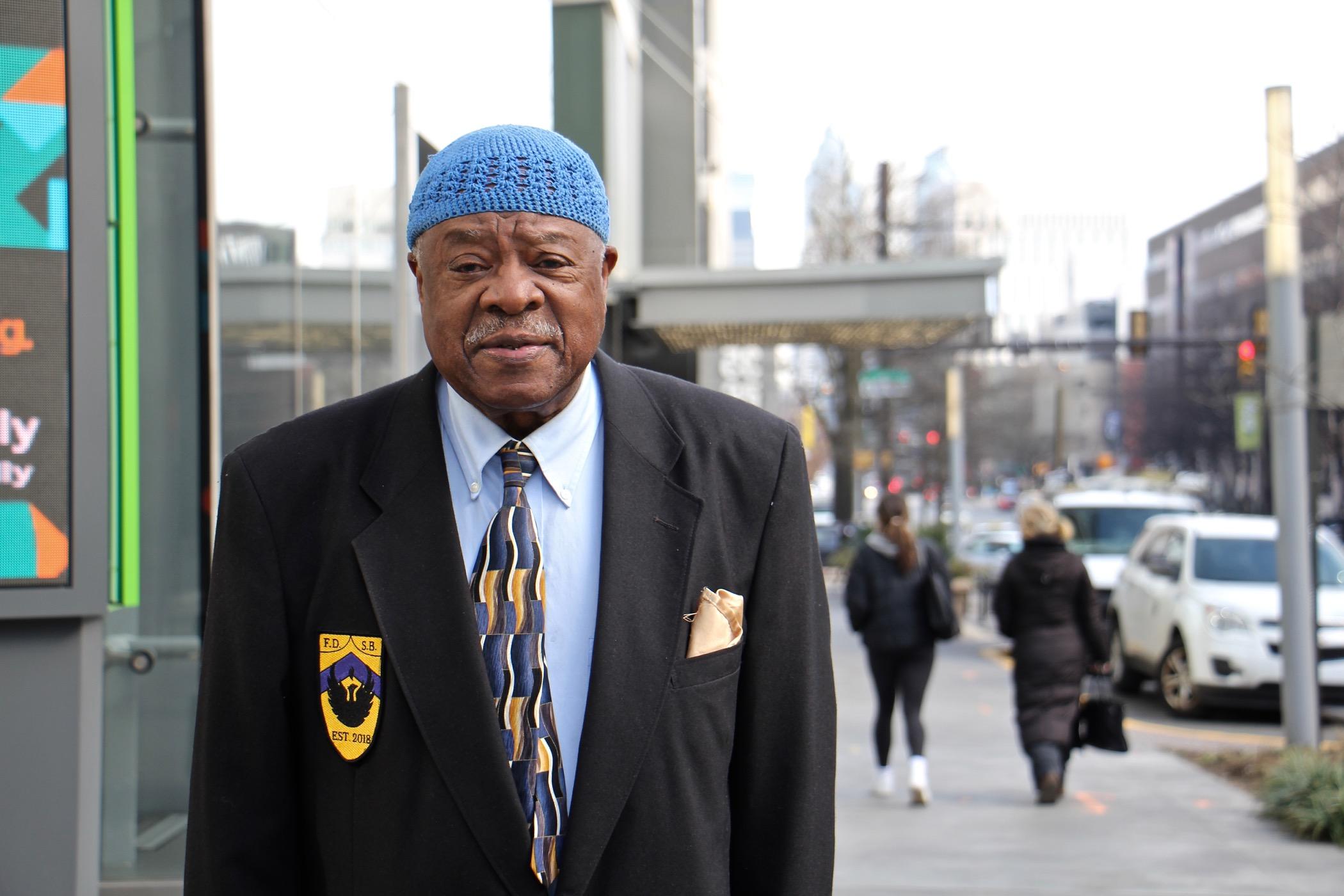 Walter Palmer on the 3600 block of Market Street