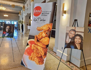 A viewing was held at The Met for Philadelphia restaurateur KeVen Parker, who died of cancer on Jan. 14 at age 57. (Ximena Conde/WHYY)